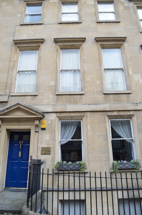 One of Jane Austen's several residences in Bath.