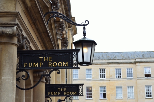 The Pump Room, where the well-heeled Elliots took afternoon tea.